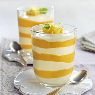 Lemon and Mango Parfaits.