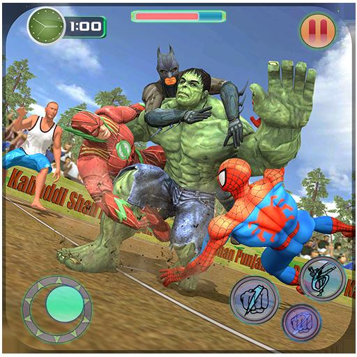 Superheroes Kabaddi Mayhem : Kabaddi Fighting Hero (game)