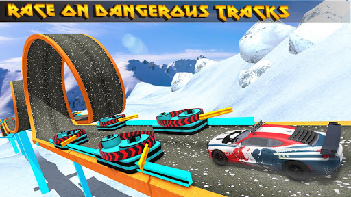 Turbo Car Rush: Mountain stunt Driver 1.4 screenshots 1