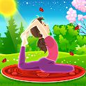 Yoga Workout & Family Fitness Simulator icon