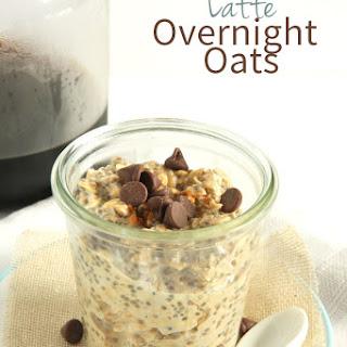 Latte Overnight Oats (Vegan).