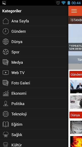 Samanyolu Haber screenshot 1