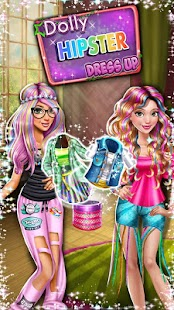 Dress up Game: Dolly Hipsters- screenshot thumbnail