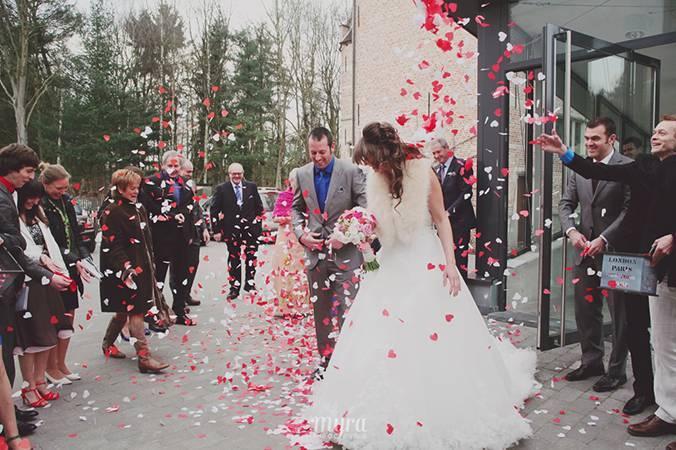 Huwelijk Kirsten & Jef  - fotocredits: Myra Olislaegers