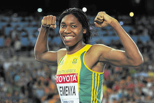 Caster Semenya reached another milestone yesterday Picture: GETTY IMAGES