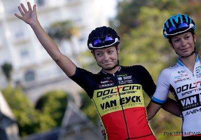 Belgisch kampioene heerst in eerste Dernycriterium voor vrouwen in Wetteren