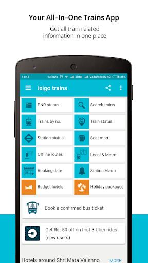 Indian Rail Train PNR Status for PC