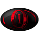 Oval Red Chrome Icons Pack Download on Windows