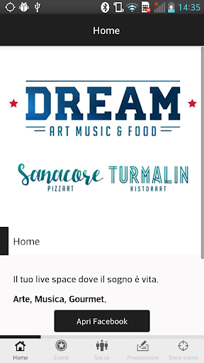 Dream Art Music Food