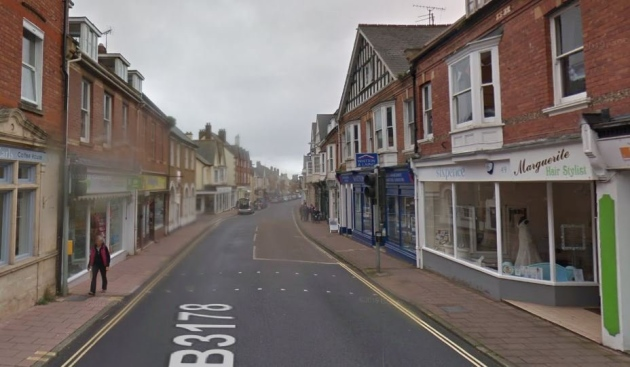 High Street, Budleigh Salterton. Picture: Google
