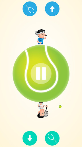 Circular Tennis 2 Player Games screenshot 1