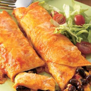 Black Bean and Corn Enchiladas Recipe