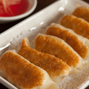 Pan Fried Shrimp, Pork & Garlic Chives Dumplings