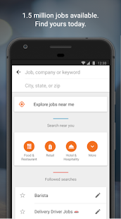Job Search with Snagajob- screenshot thumbnail