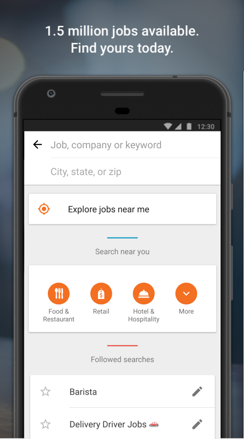Job Search with Snagajob- screenshot