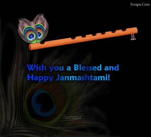 Janmashtami  Wish you a Happy, Blessed and Joyous Janmashtami.