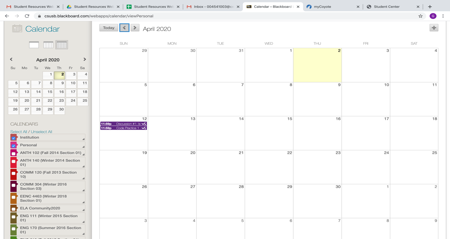 The full month is displayed, with an option to select individual days.