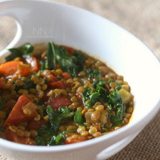 Curried Lentil Vegetable Soup