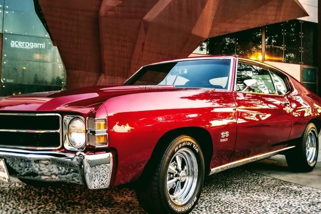 1971 Chevy Chevelle SS cherrybomb_1971 Hire California
