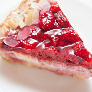 Amish Raspberry Cream Pies.