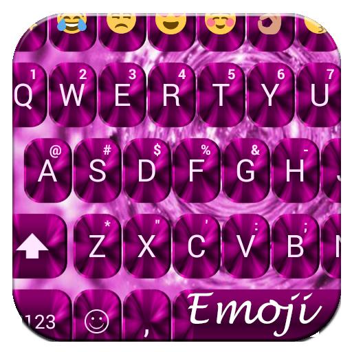 Shading Pink Emoji Keyboard