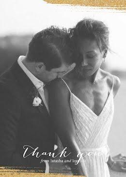 Latasha & Lorenzo Wedding - Thank You Card item