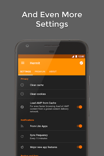 Hermit u2022 Lite Apps Browser 13.3.20 screenshots 7