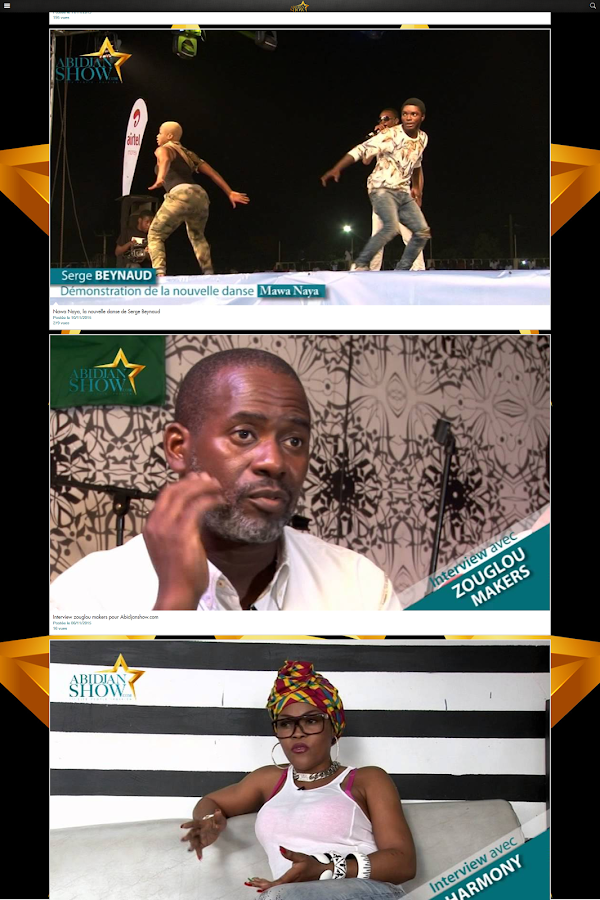 Abidjanshow- screenshot