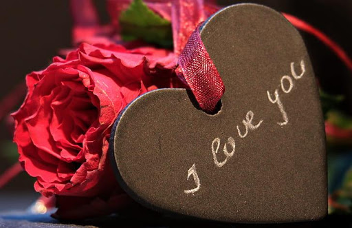 Romantic images, I love you, Roses and flowers Gif