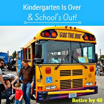 Kindergarten is over & School's out!
