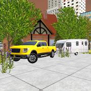 Car Driving Simulator 3D: Caravan