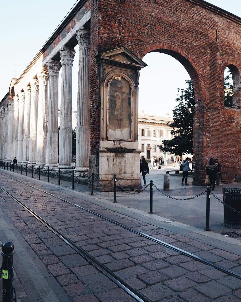 Milan Basilique di san Lorenzo Maggiore