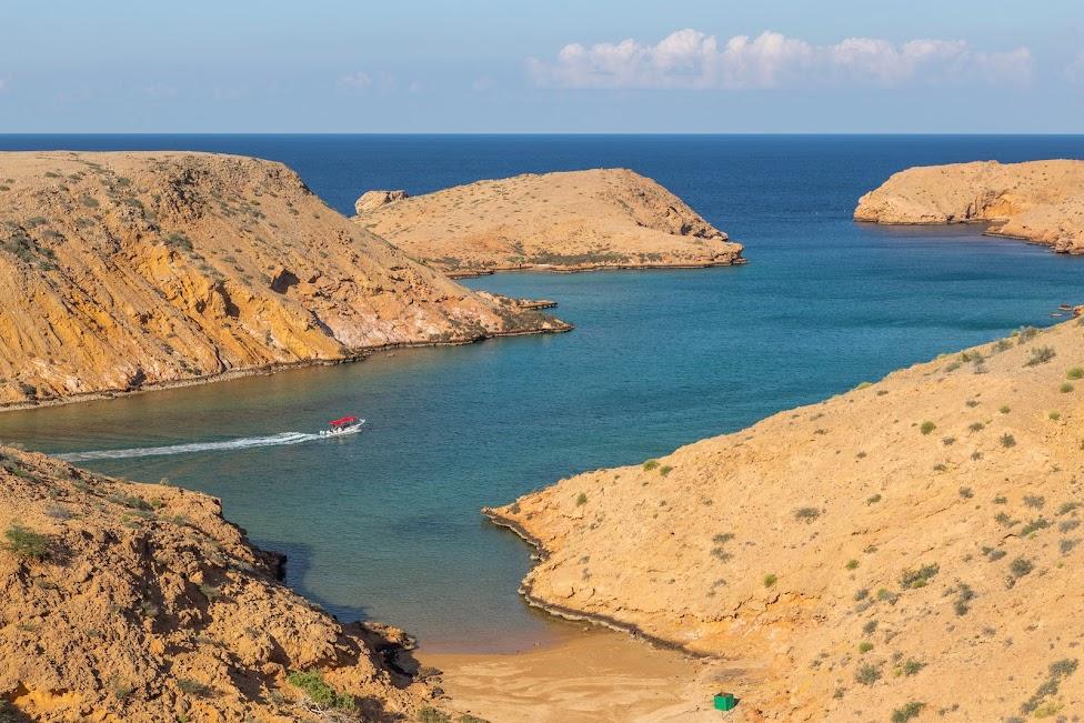 Oman, plaża, Idziemy Dalej w 2020