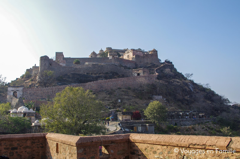 Kumbhalgarh fort, depuis Vedi temple