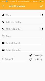 Account/Ledger Maintenance Book - náhled