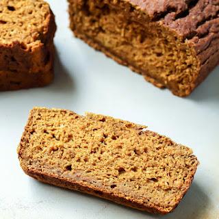 Whole Wheat Pumpkin Bread [ dairy-free ]