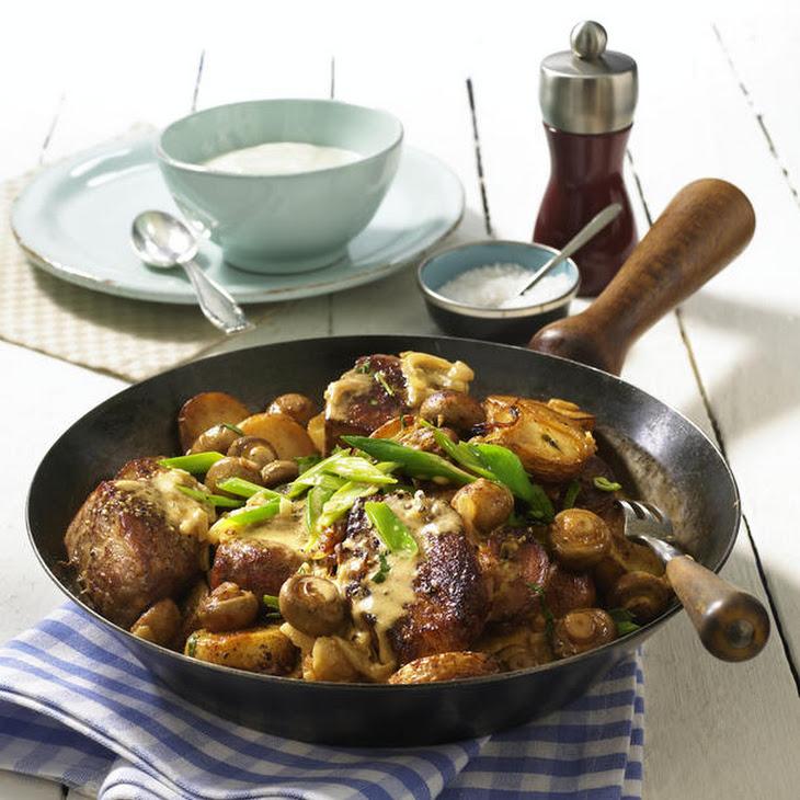 One-Pot Potatoes and Pork