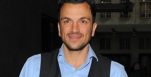 Peter Andre: 'Harvey taught me how to be a dad'