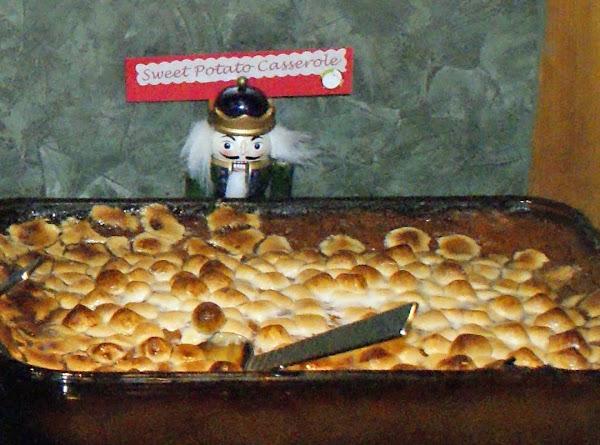 Marshmallow Sweet Potato Casserole Recipe