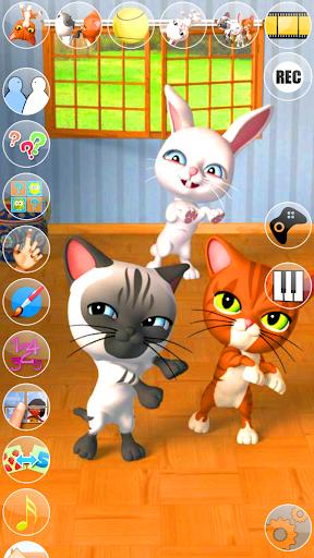 トーキング3友達猫&バニー