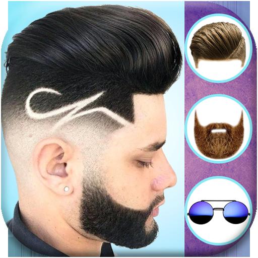 Homem penteados editor de fotos 2019