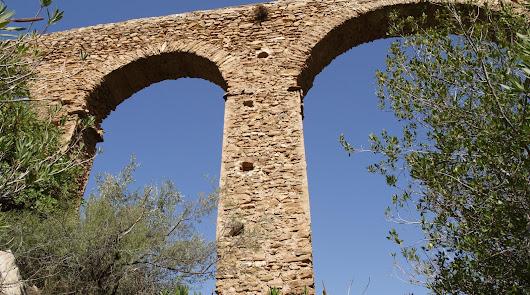 El Acueducto Romano de Albanchez.