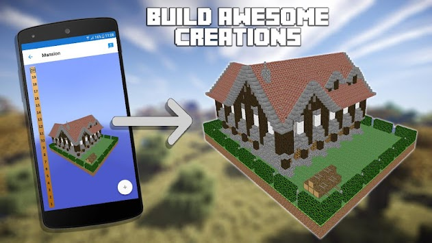 Download 3d blueprints for minecraft apk latest version app for 3d blueprints for minecraft poster malvernweather Images