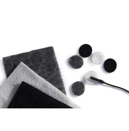 Mixed Colour Undercovers Black/Gray/White - Rycote