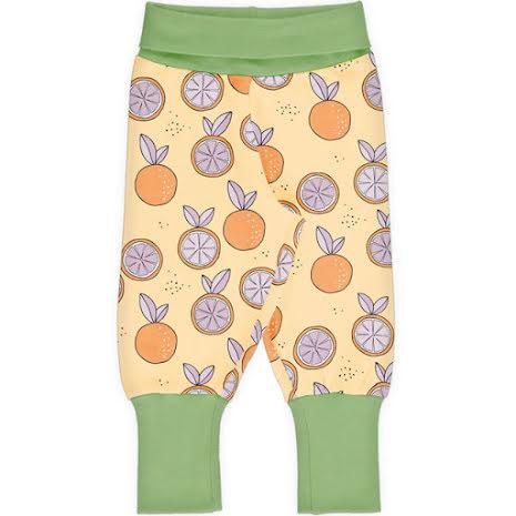Maxomorra Rib Pants Citrus Sun
