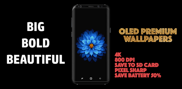 OLED Premium 4K PRO Wallpapers (2960x1440)