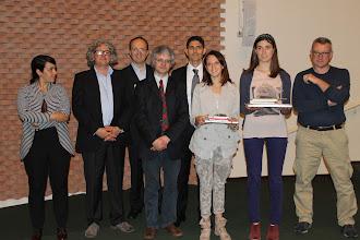"""Photo: Piccolo Agone Placidiano 2015: Vincitrici per il Liceo Classico """"G. B. Morgagni"""" di Forlì: Caterina Rossi (2° anno), Emma Bonaguri (4° anno)"""