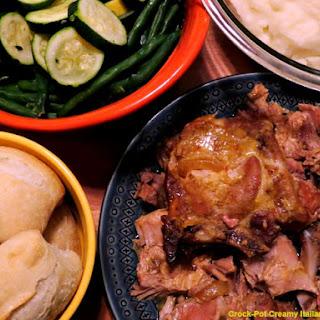 Crock-Pot Creamy Italian Pork Chops Recipe
