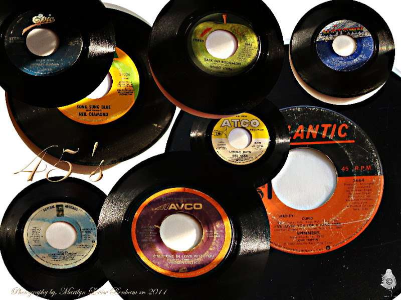 Photo: Old 45's