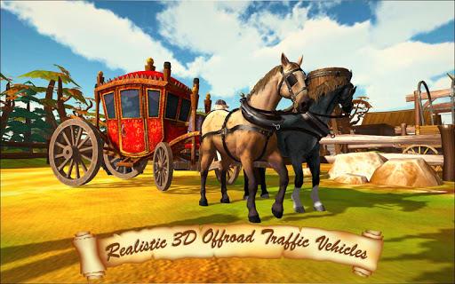 Horse Taxi City Transport: Horse Riding Games painmod.com screenshots 6